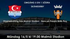 KSF Prespa Birlik - Kristianstad FC