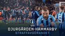 Djurgården-Hammarby | Straffavgörandet | Svenska cupen Kvartsfinal