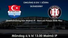 KSF Prespa Birlik - FC Höllviken