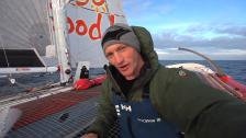 Morin testar världens mest extrema soloseglarbåt