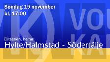 Hylte/Halmstad - Södertelge (H)