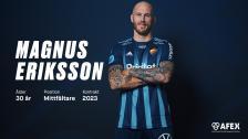 Välkommen hem Magnus Eriksson