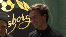 U21 Eftersnack Simon Hedlund och Adam Lundqvist