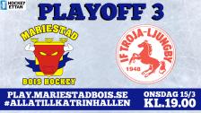 Mariestad BoIS - IF Troja-Ljungby / Onsdag 15/3 19:00