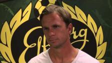 Inför IFE Celtic Tobias Linderoth