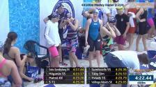 53 4X100m Medley Damer Jr SM/JSM 25m 2015