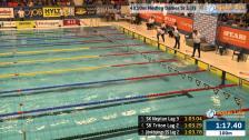 45 4X50m Medley Damer Sr Heat 1 SM/JSM 25m 2015