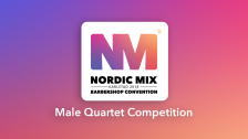 Male Quartet Competition (Finals)