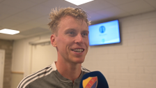 Intervjuer efter segern mot Örebro