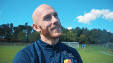 Magnus Erikssons första träning