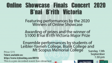 Bnai Brith Showcase - Finals Concert Trailer