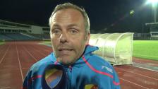 Anders Johansson efter förlusten mot MFF