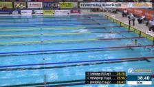 34 4X50m Medley Herrar Sr Heat 1 SM/JSM 25m 2015