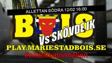 Mariestad BoIS - Skövde IK / Söndag 12/02 16:00