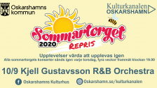 Repris Sommartorget Oskarshamn - Kjell Gustavsson R&B Orchestra