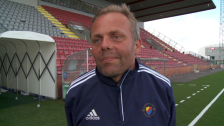 Anders Johansson försöker förklara segern med 5-4