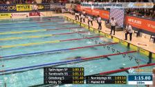 45 4X50m Medley Damer Sr Heat 2 SM/JSM 25m 2015