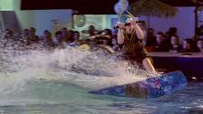 Vattensport inne i värmen!