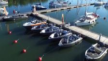 Uppvakning bland ett gäng nya Busterbåtar