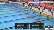 17 50m Fjärilsim Damer B-Final SM/JSM 25m 2015