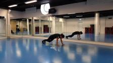 Floor Curling Pass 1