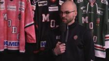 Intervju med Björn Edlund och Erika Grahm inför andra kvartsfinalen mot Leksand