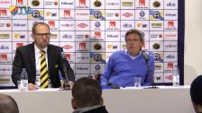 Presskonferensen efter Elfsborg - DIF