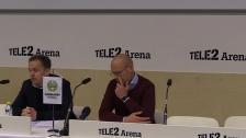 Presskonferensen efter Hammarby-Sundsvall 0-0