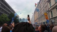 Vi e från stockholm, från stockholms stadion!