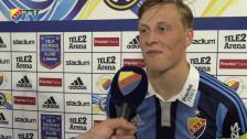 Emil mycket nöjd efter segern