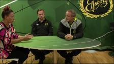 Inför finalhelgen: tränarna Tobias Linderoth och Jesper Bengtsson