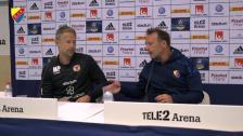 Presskonferensen efter Djurgården - Kalmar