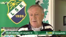 Erland Holmdahl om det uppkomna läget med Ljungskilebuss