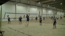 En dag i volleybollhallen