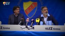 Presskonferensen med Özcan Melkemichel