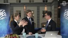 Handelsdagarna 2014 - Hugo Hågemark och Sofie Gyllenswärd