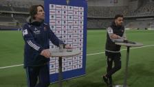 Presskonferensen efter Djurgårdens kvartsfinalseger