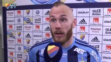 Magnus Eriksson glad målskytt