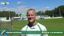 Jonathan Gustafsson, matchens LSK-profil mot Ängelholms FF