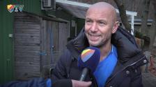 Mark Dempsey inför sin sista match i Djurgården