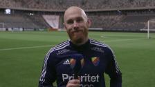 Magnus Eriksson åter i träning i Djurgården