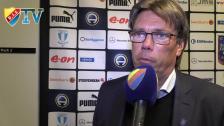 Pelle Olsson var nöjd med spelarnas prestation