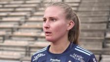 Rachel Bloznalis efter förlusten mot Kopparbergs/Göteborg
