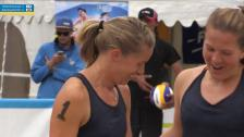 Sofia Wahlén/Johannah Rohkämper - Anna Rydenberg/Josefine Tivefälth
