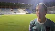 Viktor Gyökeres efter två mål i första a-lagsstarten