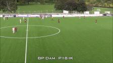 Målen mellan BP Dam - P18 IK
