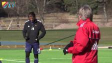 Pelle Olsson inför söndagens cupmatch mot Halmstad på Tele2 Arena
