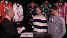 Intervju och frågesport med Léman och Lindgren inför kvartsfinalserien mot Timrå