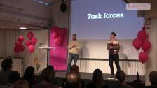 Två produktägare, två team, en strategi och ett mål
