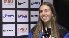 Jessica Lidberg efter finalen